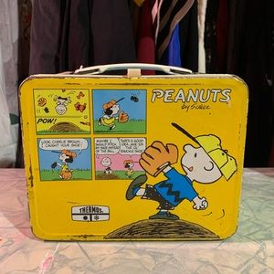 Peanuts Vintage lunchbox or purse